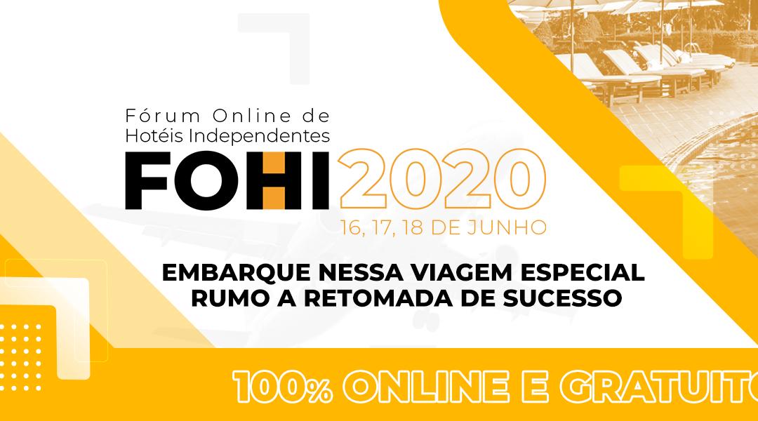 FOHI: Evento gratuito será 100% online e reunirá grandes nomes da hotelaria