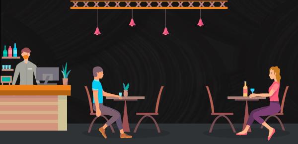 Confira algumas soluções criativas de distanciamento social em restaurantes ao redor do mundo